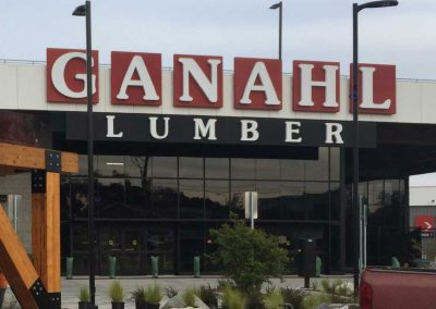 New Ganahl Lumber Store
