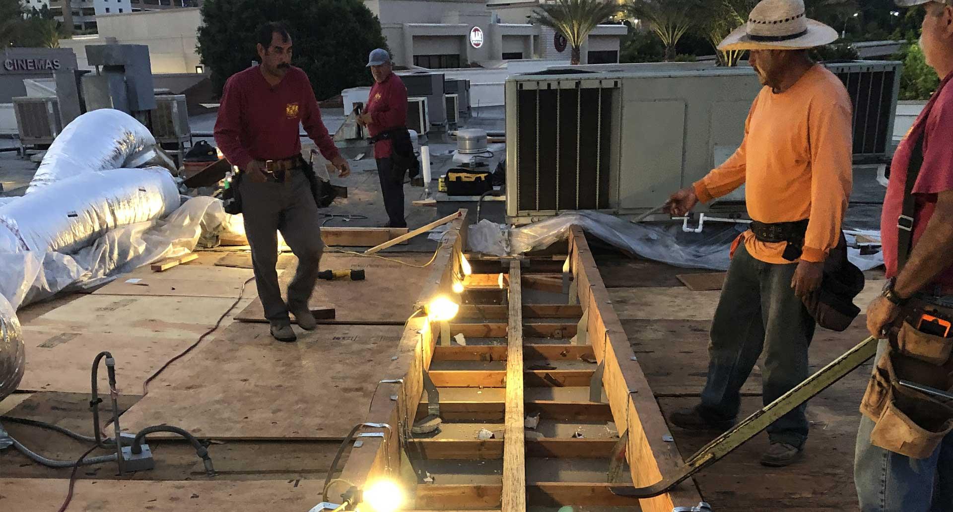 Emergency Roof Shoring & Repair